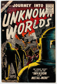 Journey Into Unknown Worlds #49 (Atlas, 1956) Condition: VG