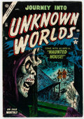 Golden Age (1938-1955):Horror, Journey Into Unknown Worlds #26 (Atlas, 1954) Condition: VG/FN....