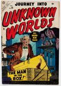 Golden Age (1938-1955):Horror, Journey Into Unknown Worlds #33 (Atlas, 1955) Condition: FN-....