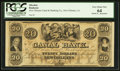 Obsoletes By State:Louisiana, New Orleans, LA-New Orleans Canal & Banking Co. $20 18__ Remainder. ...