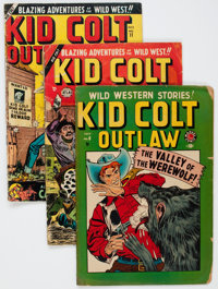 Kid Colt Outlaw Group of 26 (Atlas/Marvel, 1949-62) Condition: Average FR.... (Total: 26 Comic Books)
