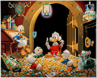 Carl Barks This Dollar Saved My Life At Whitehorse Signed Limited Edition Lithograph Print #81/350 (Another Rainbo... (T...