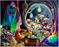 Memorabilia:Comic-Related, Carl Barks Dangerous Discovery Signed Limited Edition Lithograph Print #81/350 (Another Rainbow, 1993).... (Total: 2 Items)