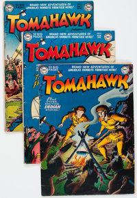 Tomahawk Group of 10 (DC, 1950-54).... (Total: 10 Comic Books)