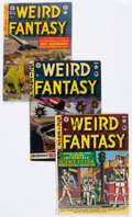 Golden Age (1938-1955):Science Fiction, Weird Fantasy Group of 5 (EC, 1951-53).... (Total: 5 Comic Books)