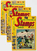 Golden Age (1938-1955):Miscellaneous, Thrilling Adventures in Stamps Group of 5 (Stamp Comics, 1951-52).... (Total: 5 Comic Books)