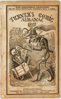 Books:Americana & American History, [Comic Almanac]. Turner's Comic Almanac for 1842.Philadelphia: Turner & Fisher, 1841. ...