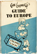 Books:Art & Architecture, [Cartoons]. Rube Goldberg and Sam Boal. Rube Goldberg's Guide to Europe. New York: The Vanguard Press, [1954]. First...
