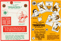 "Canadian Comic ""Tattoo Transfers"" Set Group of 2 (Double A Comics, c. 1940s).... (Total: 2 Items)"