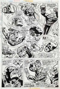 Frank Robbins and Frank Springer Invaders #17 Page 5 Original Art (Marvel, 1977)