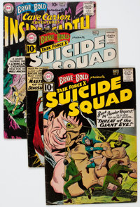 The Brave and the Bold Group of 14 (DC, 1960-64) Condition: Average VG+.... (Total: 14 Comic Books)