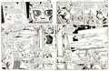 Original Comic Art:Panel Pages, Ross Andru and Romeo Tanghal DC Special Series #26 Superman and His Incredible Fortress of Solitude Pages 18-19 Or... (Total: 2 Original Art)