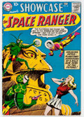 Silver Age (1956-1969):Science Fiction, Showcase #16 Space Ranger (DC, 1958) Condition: VG+....