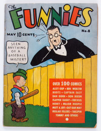 The Funnies #8 (Dell, 1937) Condition: GD