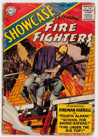 Showcase #1 Fire Fighters (DC, 1956) Condition: FR/GD