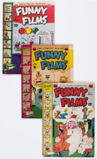 Funny Films Group of 13 (ACG, 1950-53) Condition: Average GD/VG.... (Total: 13 Comic Books)