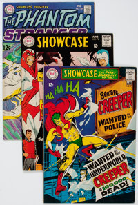 Showcase Group of 7 (DC, 1968-77) Condition: Average FN/VF.... (Total: 7 Comic Books)