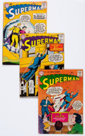 Silver Age (1956-1969):Superhero, Superman Group of 5 (DC, 1957-58) Condition: Average VG.... (Total: 5 Comic Books)