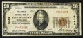 National Bank Notes:Pennsylvania, Stewartstown, PA - $20 1929 Ty. 1 The Peoples NB Ch. # 6444. ...