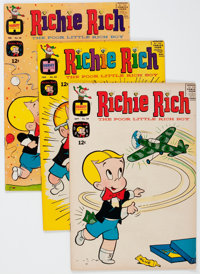 Richie Rich Group (Harvey, 1965-69) Condition: Average VF/NM.... (Total: 63 Comic Books)