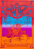 Music Memorabilia:Posters, The Who Hollywood Palladium Concert Poster (California GraphicExchange, c. 1971)....