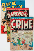 Golden Age (1938-1955):Miscellaneous, Comic Books - Assorted Golden Age Comics Group (Various Publishers, 1940s-50s) Condition: Average FR.... (Total: 75 Comic Books)