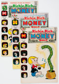 Bronze Age (1970-1979):Cartoon Character, Richie Rich Money World File Copy Group (Harvey, 1972-82)Condition: Average NM-.... (Total: 127 Comic Books)