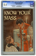 Golden Age (1938-1955):Religious, Know Your Mass #303 File Copy (Catechetical Guild, 1954) CGC GD+2.5 Cream to off-white pages. Addison Burbank art. Hans Hel...