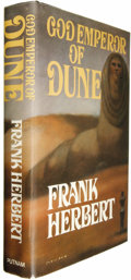 Books:Signed Editions, Frank Herbert Signed: God Emperor of Dune....