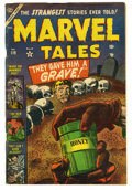 Golden Age (1938-1955):Horror, Marvel Tales #119 (Atlas, 1953) Condition: VG. Russ Heath art.Skull cover. Overstreet 2006 VG 4.0 value = $80....