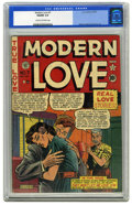 Golden Age (1938-1955):Romance, Modern Love #7 (EC, 1950) CGC VG/FN 5.0 Cream to off-white pages.Al Feldstein cover. Interior art by Jack Kamen, Graham Ing...