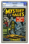 Golden Age (1938-1955):Horror, Mystery Tales #24 (Atlas, 1954) CGC FN+ 6.5 Cream to off-whitepages. Joe Maneely cover. This is the highest CGC graded copy...