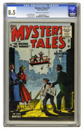 Golden Age (1938-1955):Horror, Mystery Tales #27 (Atlas, 1955) CGC VF+ 8.5 Cream to off-whitepages. Joe Maneely cover. Dick Ayers, Al Hartley, and John Fo...