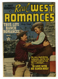 Golden Age (1938-1955):Romance, Real West Romances V1#3 (Prize, 1949) Condition: VF. Jack Kirbyart. Photo cover. Overstreet 2006 VF 8.0 value = $78....