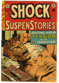 "Golden Age (1938-1955):Horror, Shock SuspenStories #12 (EC, 1953) Condition: VG-. Anti-drug issuewith classic junkie cover and story (""The Monkey""). Al Fe..."