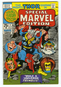 Bronze Age (1970-1979):Superhero, Special Marvel Edition #3 (Marvel, 1971) Condition: NM-. Square bound. Features Thor. Overstreet 2006 NM- 9.2 value = $20....