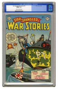 Star Spangled War Stories #15 (DC, 1953) CGC FN/VF 7.0 Cream to off-white pages. CGC has ranked this book as the highest...