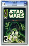 Modern Age (1980-Present):Science Fiction, Star Wars #84 (Marvel, 1984) CGC NM 9.4 Off-white to white pages.Roy Richardson and Tom Palmer cover. David Mazzucchelli an...