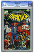 Bronze Age (1970-1979):Horror, Tomb of Dracula #7 White Mountain pedigree (Marvel, 1973) CGC VF/NM9.0 White pages. Tom Palmer cover. Gene Colan interior a...