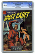Golden Age (1938-1955):Science Fiction, Tom Corbett Space Cadet #10 File Copy (Dell, 1954) CGC VF/NM 9.0Off-white to white. Paul Norris art. Painted cover. This is...