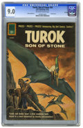 Silver Age (1956-1969):Adventure, Turok #24 File Copy (Dell, 1961) CGC VF/NM 9.0 Off-white to white pages. Painted cover. Alberto Giolitti art. Overstreet 200...