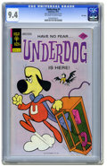 Bronze Age (1970-1979):Cartoon Character, Underdog #1 File Copy (Gold Key, 1975) CGC NM 9.4 Off-white towhite pages. Overstreet 2006 NM- 9.2 value = $90. CGC census ...