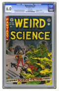 """Golden Age (1938-1955):Horror, Weird Science #22 (EC, 1953) CGC FN 6.0 White pages. Wally Woodcover. """"My World"""" story with Wood art, narrated by the artis..."""