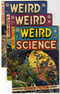 Golden Age (1938-1955):Horror, Weird Science #9, 17, and 18 Group (EC, 1951-53). Group of threeWeird Science issues features #9 (VG+ -- Wally Wood cov... (Total:3 Comic Books)