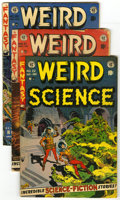 Golden Age (1938-1955):Horror, Weird Science #20-22 Group (EC, 1953). This group of three WeirdScience comics is composed of #20 (VG+ -- excellent Wal... (Total:3 Comic Books)