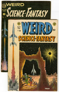Golden Age (1938-1955):Science Fiction, Weird Science-Fantasy #24 and 29 Group (EC, 1954-55). Lot of twoWeird Science-Fantasy comics includes #24 (FN+ -- Harla... (Total:2 Comic Books)