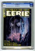 Magazines:Horror, Eerie #4 (Warren, 1966) CGC VF/NM 9.0 Cream to off-white pages. Grey Morrow cover. Interior art by Morrow, Steve Ditko, Gene...