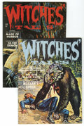 Magazines:Horror, Witches Tales V3#2 and 3 Group (Eerie Publications, 1971). Lot of two Witches Tales magazines includes V3#2 (VF) and 3 (... (Total: 2 Comic Books)
