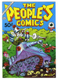 Bronze Age (1970-1979):Alternative/Underground, The People's Comics #nn (Golden Gate, 1972) Condition: NM-. Robert Crumb cover and art. Death of Fritz the Cat. First printi...