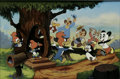 "Animation Art, ""Woody Greets His Friends"" Limited Edition Hand Painted Cel#242/500 Original Art (Walter Lantz Productions, 1989). Woody Wo..."